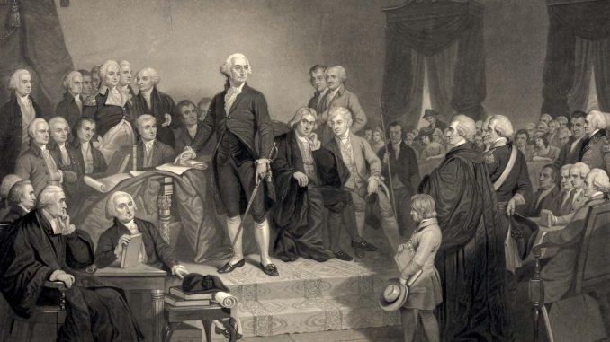 George Washington inaugural address
