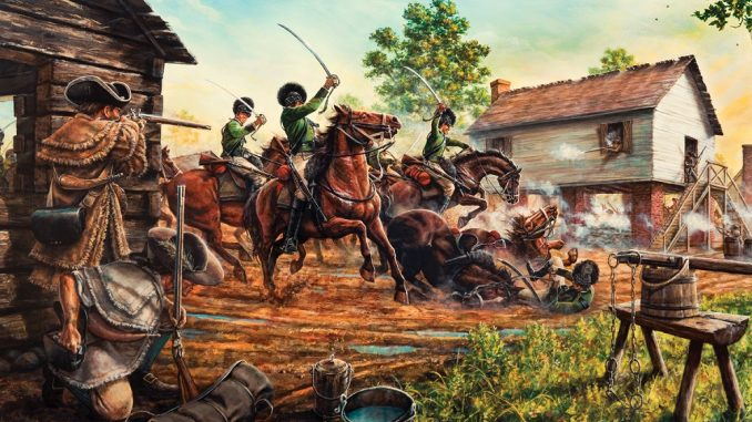 Militia Defeats Loyalist Cavalry