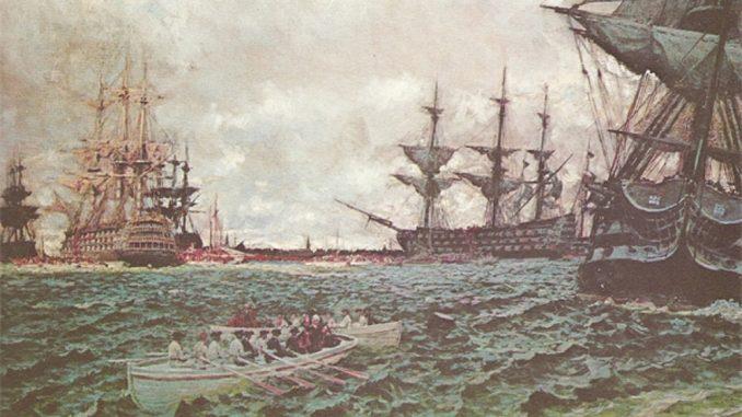 British Evacuate Savannah