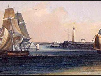 Patriots Destroy Boston Lighthouse