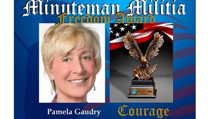 Pamela Gaudy National Anthem