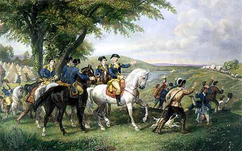 Washington Trains Militias