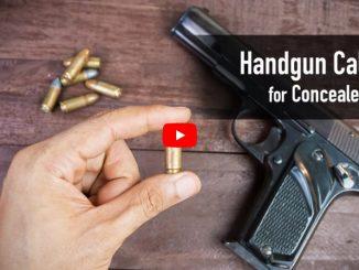 Handgun Calibers