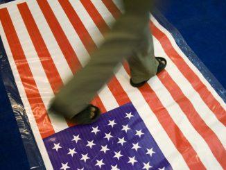 Step-On-American-Flag