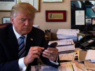 Trump cell phone white house