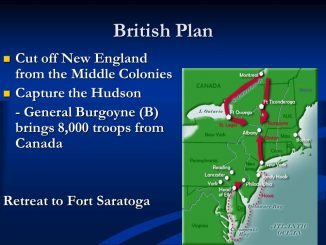 British plan to isolate New England